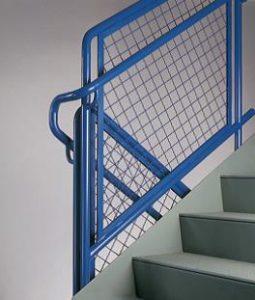 blue-mesh-railing